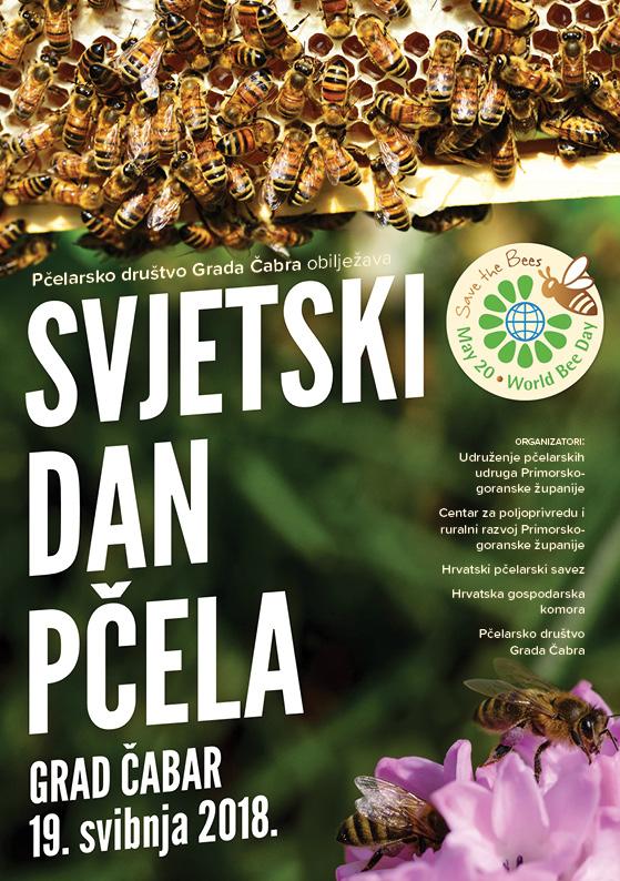 Obilježavanje Svjetskog dana pčele 2018, Grad Čabar 19. svibnja 2018. godine