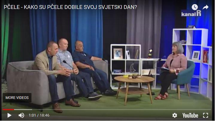 PČELE – KAKO SU PČELE DOBILE SVOJ SVJETSKI DAN? TV KanalRI, 21/05/2018