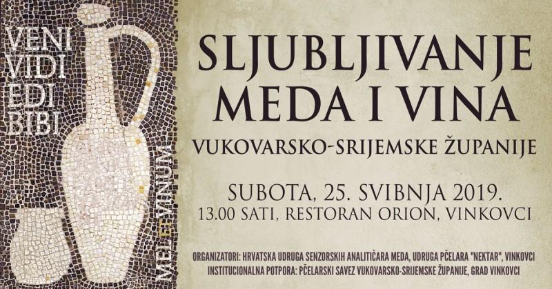 VENI VIDI EDI BIBI – MEL ET VINUM, Vinkovci 25. svibnja 2019